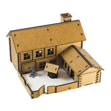 Wargaming 28mm fantasy terrain décors taverne building