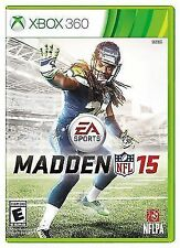 ** Madden NFL 15 for Microsoft Xbox 360 - BRAND NEW & FACTORY SEALED