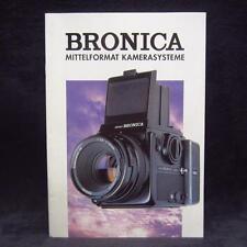Bronica Mittelformat Kamerasysteme booklet - Heft - Zeitschrift - Zeitung