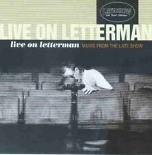 Live on Letterman-Music from the Late Show (1997) Jerry Garcia/David Gris.. [CD]
