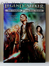 Legend of the Seeker Complete Second Season Mythology Fantasy T.V. Series on DVD