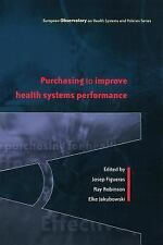 Purchasing to improve health systems performance (European Ovservatory on Health