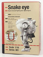 Max Factory Maschinen Krieger Snake eye 1/16 Action figure Robert W.Stenglein U