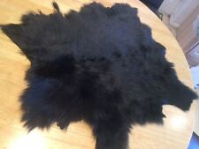 BLACK TOSCANA SHEEPSKIN - 2702 - COLLARS, CUFFS, BAGS ETC