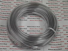 "1354  Clear Fuel Line 50'  For 1/4"" nipples (lawn mowers)"