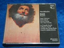 2 CD 1993 MENDELSSOHN  elias ELIJAH salomaa ISOKOSKI groop AINSLEY p.herreweghe