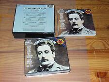 PUCCINI - IL TRITTICO: MAAZEL, COTRUBAS / CBS 3-CD-BOX