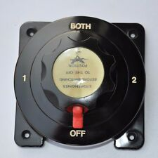 Heavy Duty Marine Dual Battery Switch Isolator Boat/4X4/Caravan/Yacht