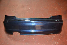 MERCEDES C CLASS W203 C220 CDI COUPE REAR BUMPER IN TANZANITE BLUE METALLIC