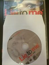 Lie to Me – Season 1, Disc 1 REPLACEMENT DISC (not full season)
