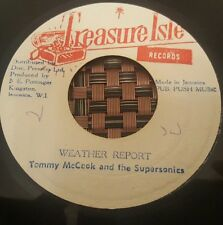 "Tommy McCook & The Supersonics Weather Report JA 7"" Listen !"