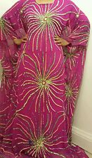 Perlaz African Dress Kaftan boubou Abaya full beaded sequence wedding dress