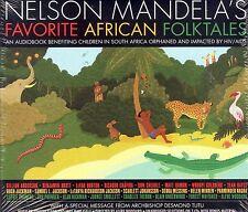 Nelson Mandela's favorite African Folktales audiobook CD NEW
