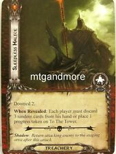 Lord of the Rings LCG  - 1x Sleepless Malice  #158 - The Morgul Vale