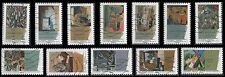 "France 4206-4217 ""Cubist Art"" [12 USED Stamps] Issued 2012"
