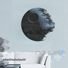 Star Wars Death Star 3D Wall Decals Removable Kids Stickers Decor Mural Art