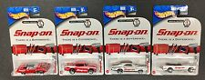 Hot Wheels 2004 Sp Ed Snap On ~ 70 Barracuda 57 Chevy 69 Charger & 65 Mustang