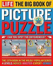 LIFE The Big Book of Picture Puzzle (Life Picture Puzzle), Editors of Life