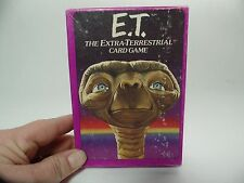 Vintage E.T. Extra Terrestrial Card Game 1982