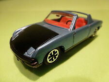 DINKY TOYS   1:43  PORSCHE 914   VW PORSCHE  NO=208   - IN  VERY GOOD CONDITION