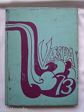 1973 HINSDALE TOWNSHIP  HIGH SCHOOL YEARBOOK DARIEN, ILLINOIS   VESPA