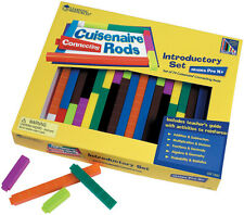 Learning Resources - 74 Piece Connecting Cuisenaire plastic Rods set and tray