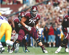 TEXAS A&M AGGIES JAKE MATTHEWS SIGNED 8X10 PHOTO W/COA JOHNNY MANZIEL A