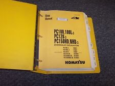 Komatsu PC150HD-3 PC150NHD-3 Hydraulic Excavator Shop Service Repair Manual Book