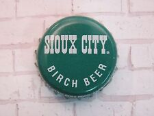 Beer Bottle Cap ~ WHITE ROCK Beverages SIOUX CITY Birch Beer ~  ~ Whitestone, NY