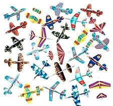 24 New Assorted Foam Air Plane Gliders Toys - Great Party Favors