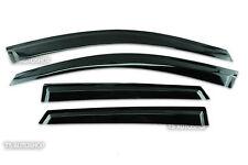 4Dr Weather Guards Black Visor Windshield For Mazda Cx3 Cx-3 Hatchback 2016 17