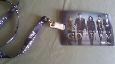 SDCC 2014 EXCLUSIVE GOTHAM LANYARD  FOX PROMO SWAG Motion card with Comic look
