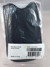 Brand New Blackberry Pocket Black Leather Case HDW-16218-003 Pearl 8100 Series