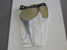 UNDER ARMOUR Mens 3Pad Compression  fit Football  Shorts Size MEDIUM  new