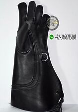 """3 Layer Cowhide Leather Falconry Eagle Glove (Large) 17"""""""