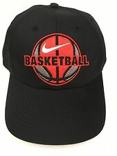 Nike DRI-FIT Adult Men's Basketball Cap Hat 530872 010 MISC