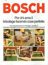 L16 Bosch Per chi ama il bricolage facendo cose perfette 1979