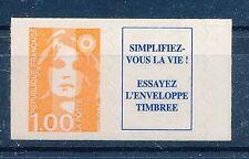 CA011 - TIMBRE DE FRANCE - Autoadhésif N° 8a Luxe