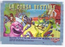 LA CORSA BESTIALE 2001 Findus Sofficini Italy pack sealed - pacchetto sigillato