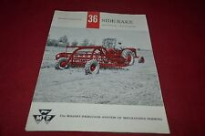 Massey Ferguson 20 25 Side Rake Dealer's Brochure DCPA6 ver2
