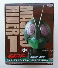 Masked Kamen Rider Original No.1 V1 Head Helmet Mask Display 1/2 Scale BANPRESTO
