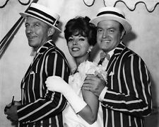 New 11x14 Photo: Bing Crosby, Bob Hope and Joan Collins in The Road to Hong Kong