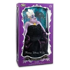 "New Disney Store The Little Mermaid Ursula Limited Edition 17"" Doll LE# 900/2000"