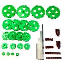 Gearwheel Set - Moulded Plastic Complete set