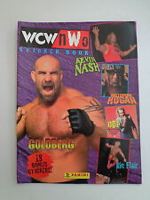 1999 Panini '99 WWF WCW NWO Wrestling Sticker Book Goldberg Nash Hogan DDP Flair