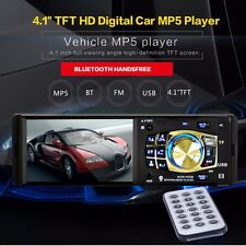 4.1'' HD 12V Car Autoradio Stereo Audio 1 DIN MP3/MP5 Bluetooth AUX SD USB FM