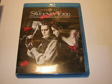 DVD blu ray SWEENEY TODD Tim Burton  Johnny Deep