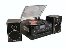 Steepletone SMC922 5-In-1 Music System with CD Recording and Remote Control