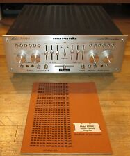 MARANTZ 1300DC INTEGRATED STEREO AMPLIFIER WORKS PERFECT A+ *SERVICED* & MANUAL