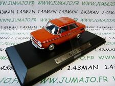 AK16 voiture 1/43 ixo atlas Auto Klassiker : NSU TT rouge orange
